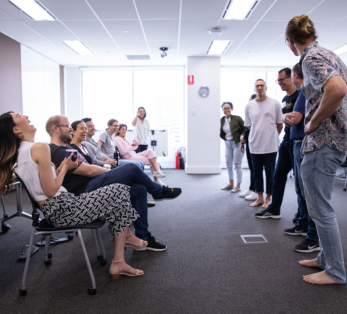 PowerProv - Improv for Business Classes, Workshops - Fun Team Building Ideas, Best Staff Training, for Leadership, Learning and Development, Human Resources HR, and People and Culture