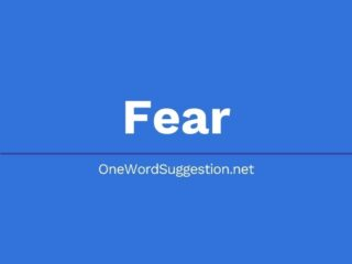 One Word Suggestion Podcast: Fear