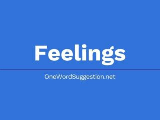 One Word Suggestion Podcast: Feelings
