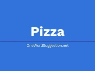 One Word Suggestion Podcast: Pizza!