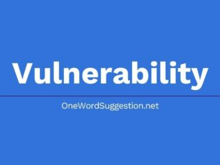 One Word Suggestion Podcast: Vulnerability